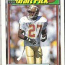TERRELL BUCKLEY 1992 Topps Draft Pick #303.  PACKERS