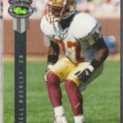 TERRELL BUCKLEY 1992 Classic 4-Sport Draft Pick #127.  FLORIDA St.