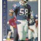CARL BANKS 1991 Pacific #340.  GIANTS