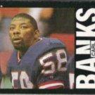 CARL BANKS 1985 Topps #111.  GIANTS