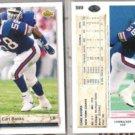 CARL BANKS (2) 1992 Upper Deck #589.  GIANTS