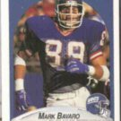 MARK BAVARO 1990 Fleer #64.  GIANTS