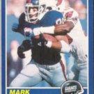 MARK BAVARO 1989 Score #52.  GIANTS