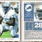 LOMAS BROWN (2) 1993 Score #384.  LIONS