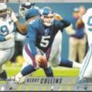 KERRY COLLINS 2002 Stadium Club #107.  GIANTS