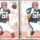 SHANE CONLAN (2) 1992 Pro Set Power #260.  BILLS