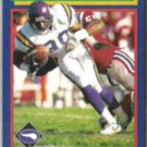 CRIS CARTER 1992 Score #19.  VIKINGS
