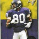 CRIS CARTER 1993 Skybox Premium #136.  VIKINGS