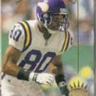 CRIS CARTER 1993 Upper Deck SP #155.  VIKINGS