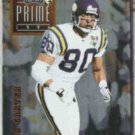 CRIS CARTER 1996 Playoff Prime #009.  VIKINGS