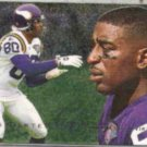 CRIS CARTER 1995 Fleer Flair Preview #19 of 30.  VIKINGS
