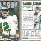 RANDALL CUNNINGHAM (2) 1992 Skybox #200.  EAGLES
