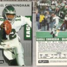 RANDALL CUNNINGHAM (2) 1992 Prime Time #300.  EAGLES
