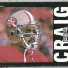 ROGER CRAIG 1985 Topps #151.  49ers