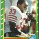 ROGER CRAIG 1986 Topps #157.  49ers