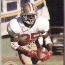 DEXTER CARTER 1990 Pro Set Draft Pick #693.  49ers