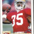DEXTER CARTER 1992 Upper Deck #493.  49ers