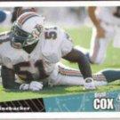 BRYAN COX 1996 Upper Deck CC #123.  DOLPHINS