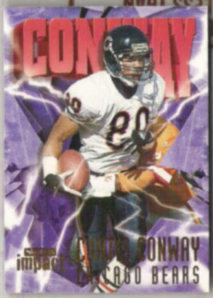 CURTIS CONWAY 1997 Skybox Impact #147.  BEARS