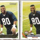 CURTIS CONWAY 1993 Topps Gold DP Insert w/ sister.  BEARS