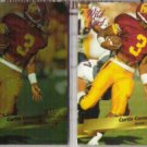 CURTIS CONWAY 1993 Wild Card Chrome Insert w/ sister.  BEARS