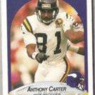 ANTHONY CARTER 1990 Fleer #96.  VIKINGS
