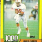 MARK CARRIER 1990 Topps 1000 Yard Club #5.  BUCS