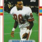MARK CARRIER 1989 Topps #331.  BUCS