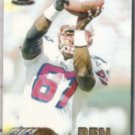 BEN COATES 1997 Pacific #242.  PATRIOTS