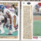 MIKE CROEL (2) 1993 UD All Rookie Team #49.  BRONCOS