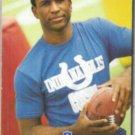 ERIC DICKERSON 1991 Pro Line Portraits #68.  COLTS