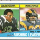 ERIC DICKERSON 1988 Topps Leaders #217.  COLTS