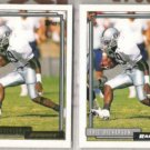 ERIC DICKERSON 1992 Topps GOLD Ins. w/ sister.  RAIDERS
