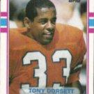 TONY DORSETT 1989 Topps #240.  BRONCOS