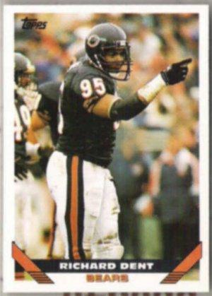 RICHARD DENT 1993 Topps #601.  BEARS