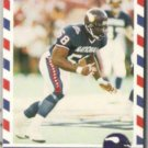 CHRIS DOLEMAN 1990 Asher Stars + Stripes #61.  VIKINGS
