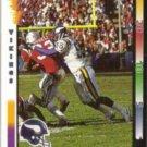 CHRIS DOLEMAN 1992 Wild Card #64.  VIKINGS