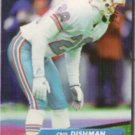 CRIS DISHMAN 1992 Fleer Ultra #141.  OILERS