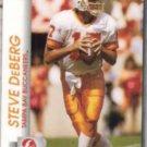 STEVE DeBERG 1992 Pro Set #663.  BUCS