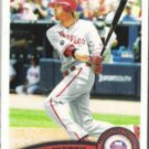 JASON WERTH 2011 Topps #325.  PHILLIES