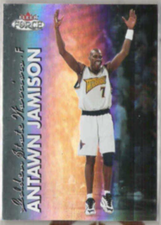 ANTAWN JAMISON 1999 Fleer Force #105.  WARRIORS