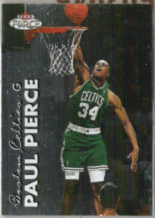 PAUL PIERCE 1999 Fleer Force #9.  CELTICS