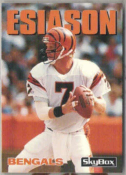 BOOMER ESIASON 1992 Skybox #73.  BENGALS