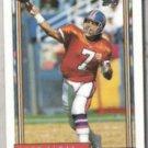 JOHN ELWAY 1992 Topps #125.  BRONCOS
