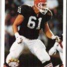 STEVE EVERITT 1993 Topps Draft #649.  BROWNS
