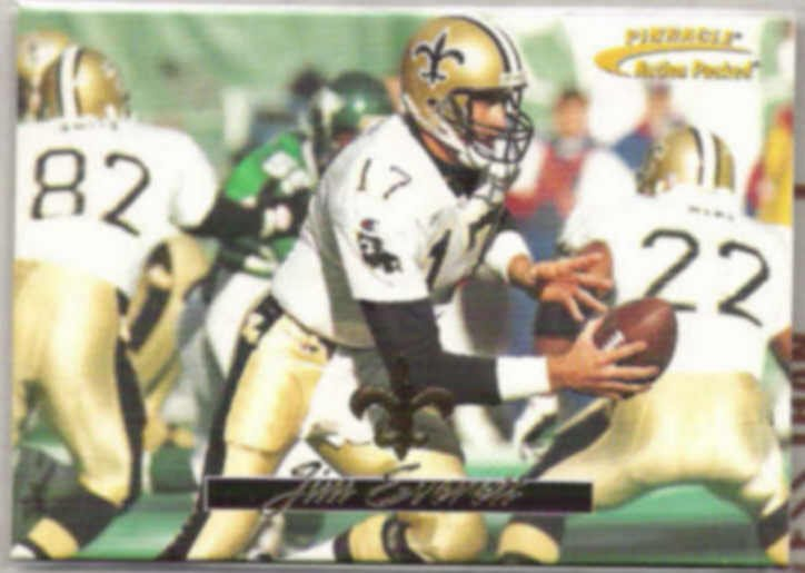 JIM EVERETT 1996 Pinnacle Action Packed #50.  SAINTS