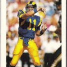 JIM EVERETT 1992 Bowman #176.  RAMS