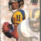 JIM EVERETT 1992 Pro Set Power #207.  RAMS