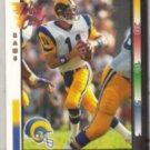 JIM EVERETT 1992 Wild Card #6.  RAMS
