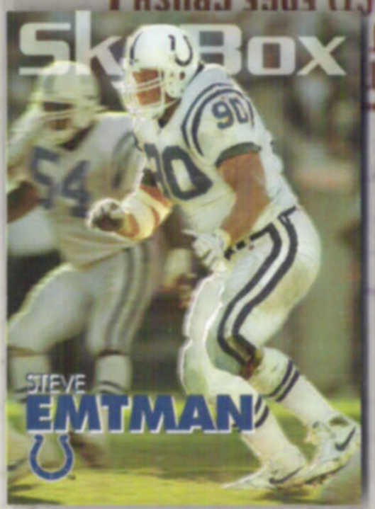 STEVE EMTMAN 1993 Skybox #133.  COLTS